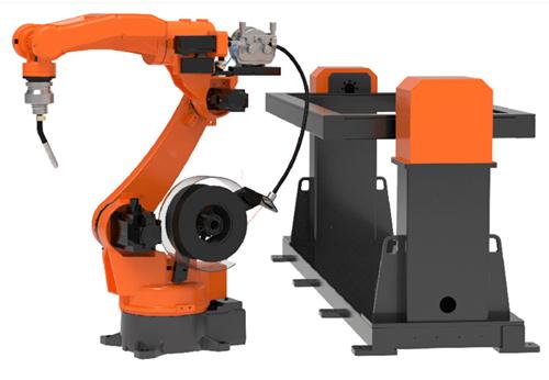 7 Axis Robotic Arc Welding Workstation