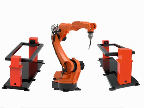 8 Axis Robotic Welding Workstation