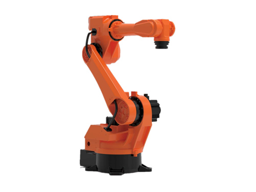 Loading and unloading robot for CNC lathe machine