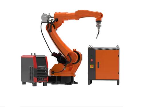 Tig welding robot with wire feeder