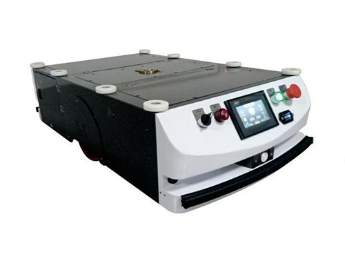 Latent traction single drive type AGV