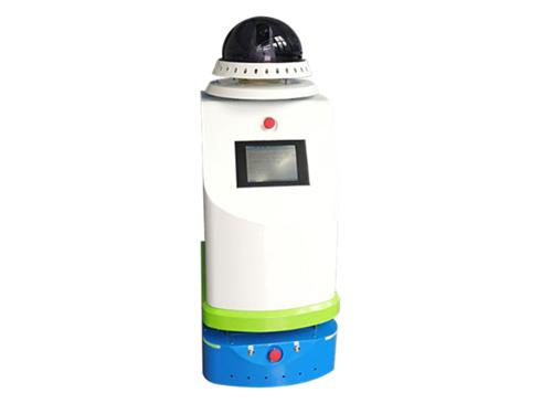 Spray disinfection robot