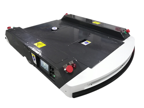 Ultra-low chassis carrying AGV