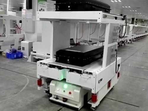 Heavy-duty jacking type AGV